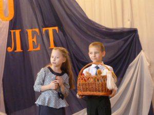 Ученица 1-А класса- призёр школьного конкурса стихов, посящённого 110 годовщине со дня рождения А.Л.Барто.